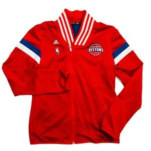 Adidas Detroit Red Wings Jersey Varsity Jacket